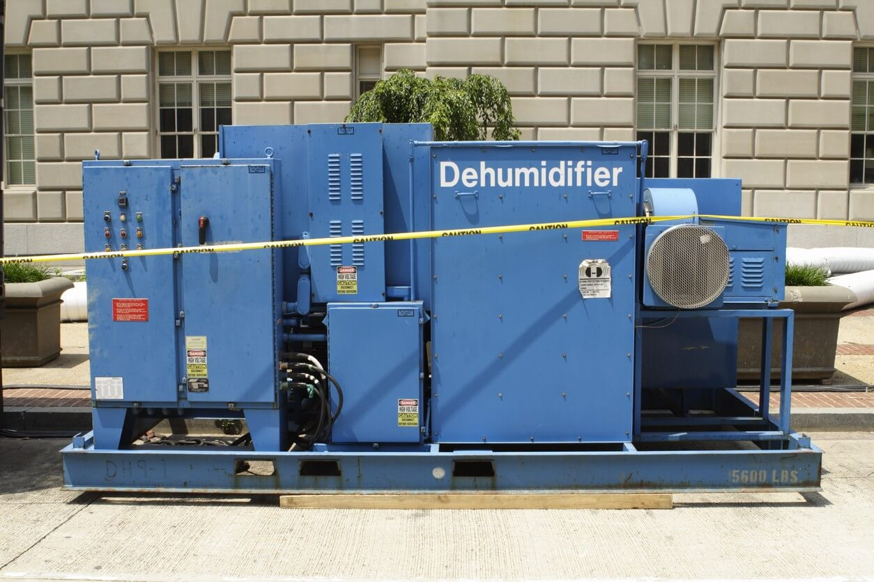 Commercial Dehumidifier Rental